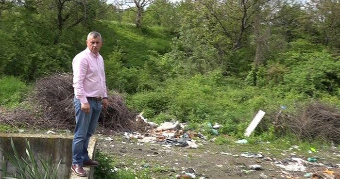 Foto: Consilierul PNL Daniel Moroșanu atrage atenția asupra pericolului deversării apelor reziduale direct în Putna
