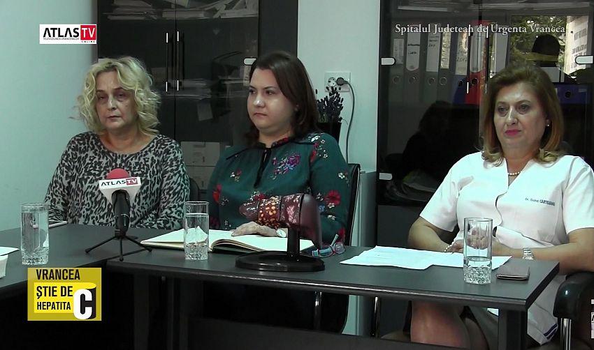 Foto: Dr. Ruxandra Ciusleanu, medic de familie, dr. Diana Stoica, epidemiolog, dr. Doina Carteleanu, Boli Infecțioase