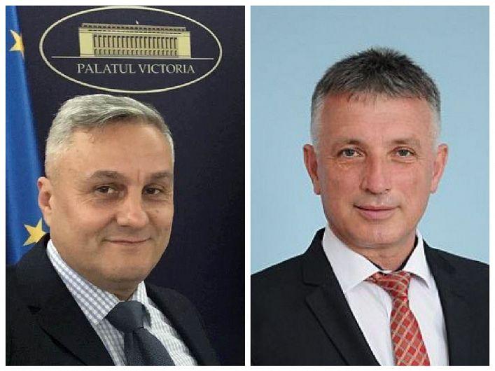 Vrâncenii Nicu Tănase (foto stânga) și Liviu Bostan (foto dreapta) au fost validați sâmbătă de Biroul Politic Național al PNL în funcțiile de Secretar de stat la Ministerul Lucrărilor Publice, Dezvoltării și Administrației (MLPDA), respectiv de Președinte al Agenției Naționale de Achiziții Publice( ANAP).
