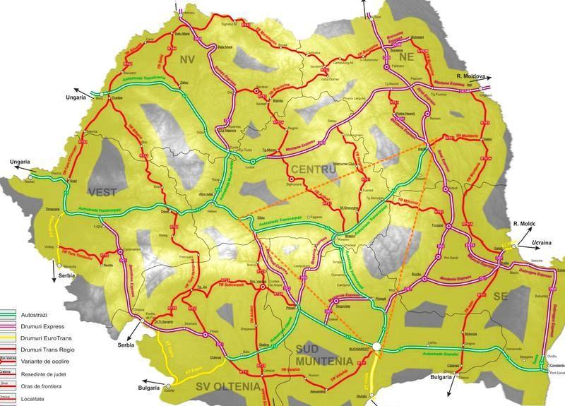 Harta Viitoarelor Autostrăzi