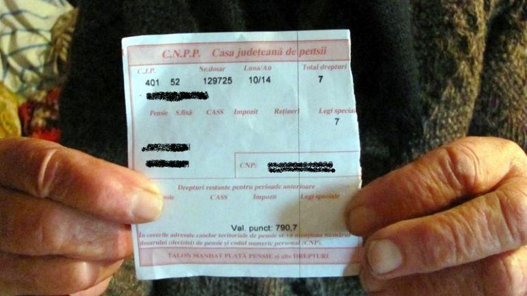 CNPP - Plata pensiei