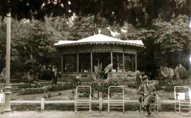 Grădina Publică în urmă cu un veac