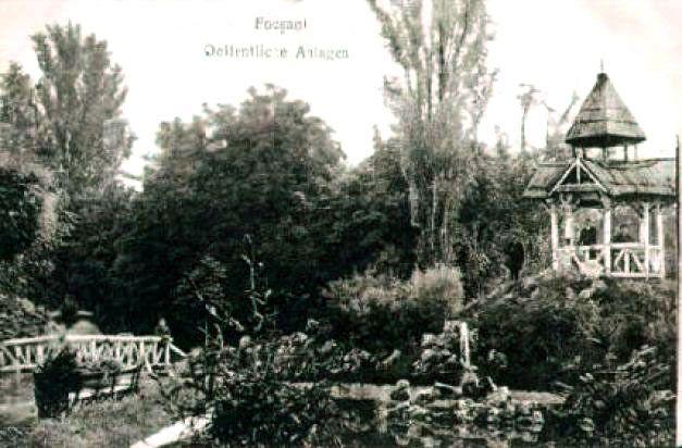 Grădina Publică din Focsani, acum mai bine de un secol