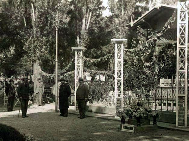 Grădina Publică din Focsani în urmă cu un veac