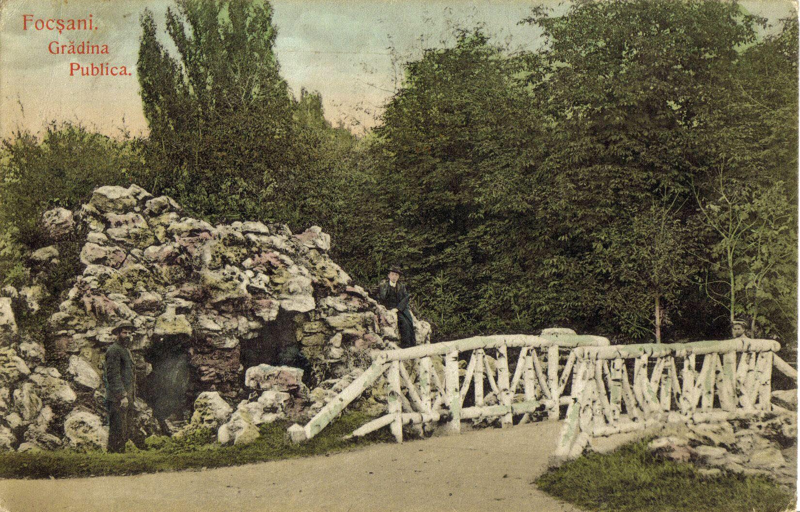 Pietrele din Gradina Publica in urma cu un secol